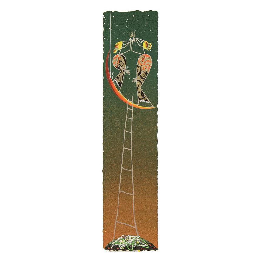 Meloniski - Brindisi sulla luna - Retouchè 15x50