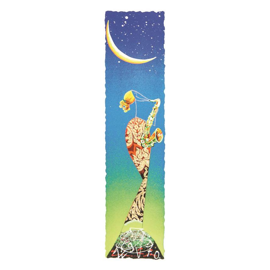 Meloniski – Suonatrice Di Sax – Retouchè 15×50