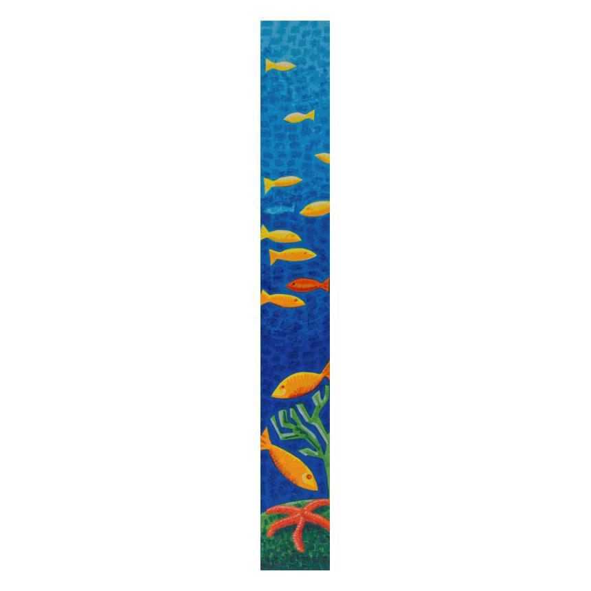 Mimmo Sciarrano - Fondo marino - Serigrafia 8x50