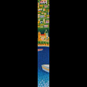 Mimmo Sciarrano – Marina Di Positano – Serigrafia 8×50