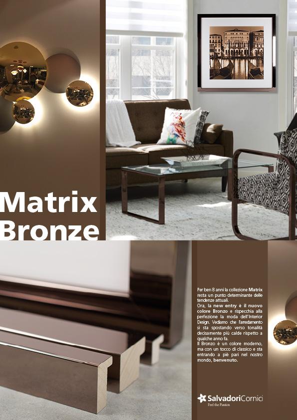 copertina matrix bronze