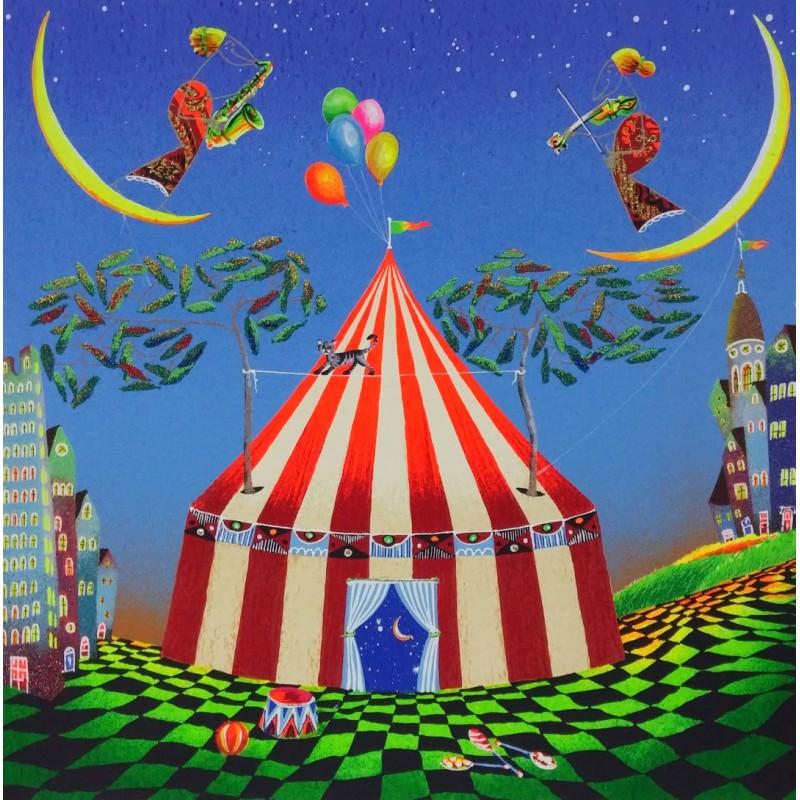 Meloniski – Circo Magico – Retouchè 70×70