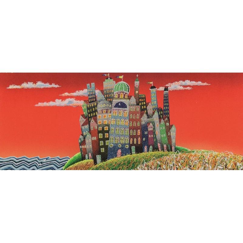 Meloniski – Piccola Città – Retouchè 40×80