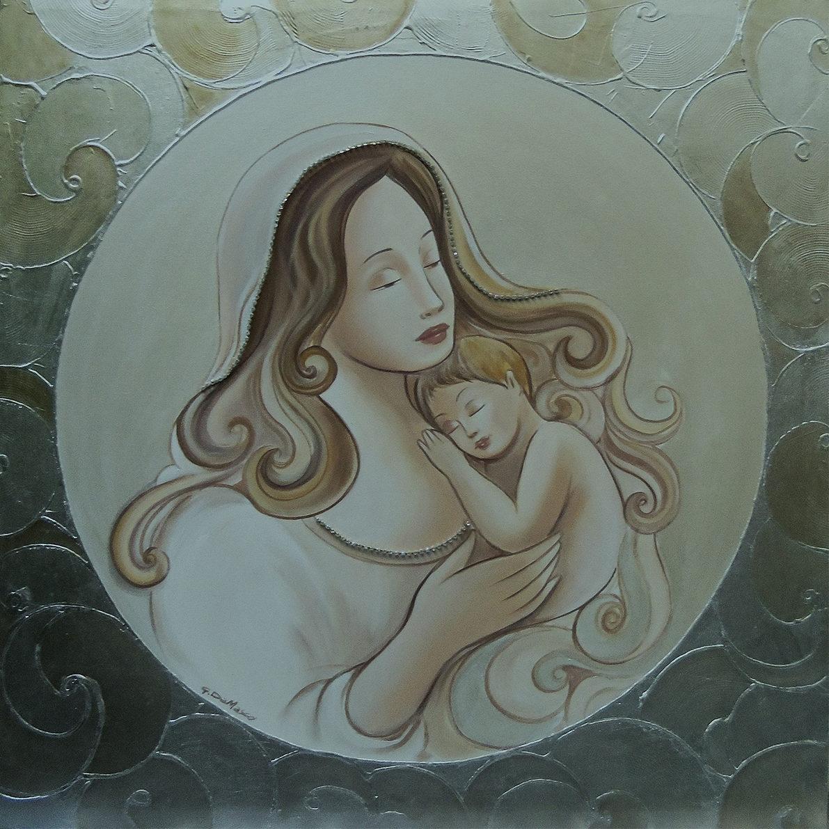 Madonna Barocca 70×70