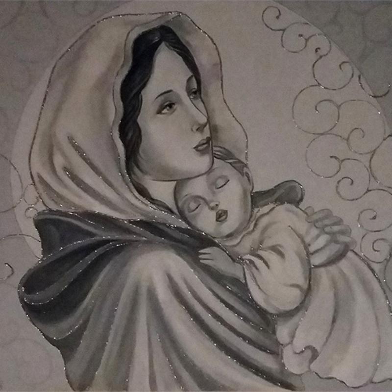 Madonna Del Riposo 120×60-1