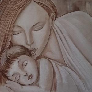 Maternità Intonaco 120x60 20-17