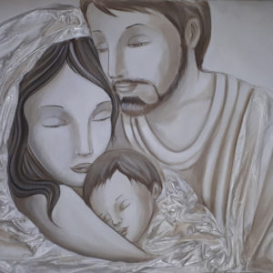 Sacra Famiglia 120x60 020