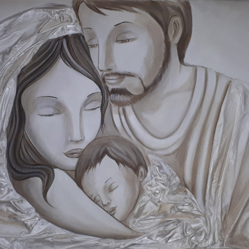 Sacra Famiglia 120×60 020