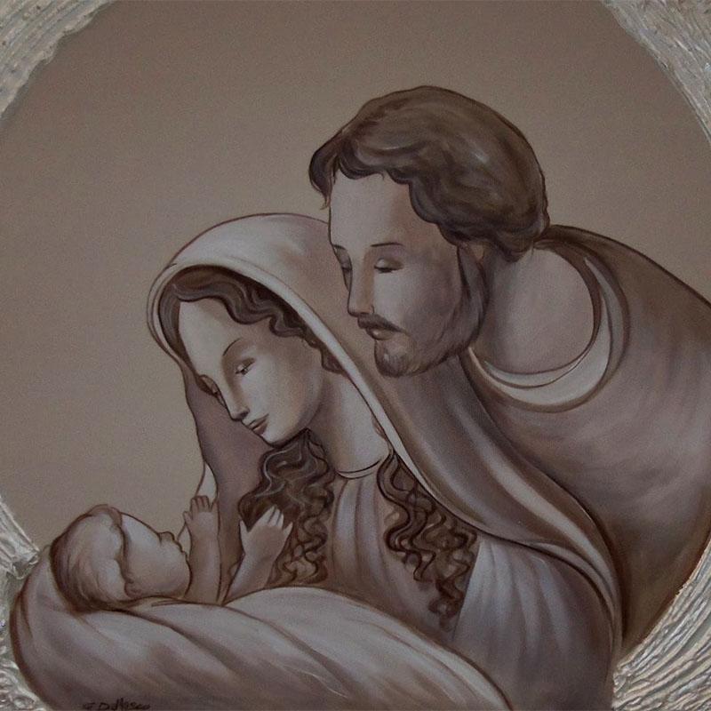 Sacra famiglia 120_60 20-14 in evidenza