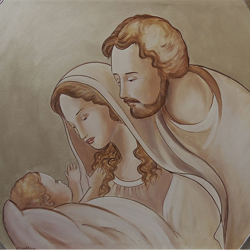 Sacra famiglia della serenità 120_60 in evidenza