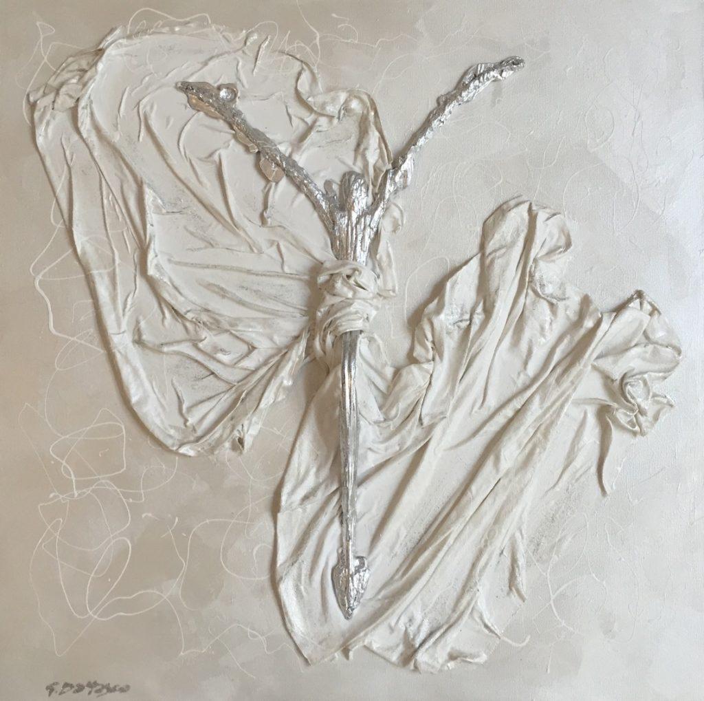 Scultura tessuto 60x60