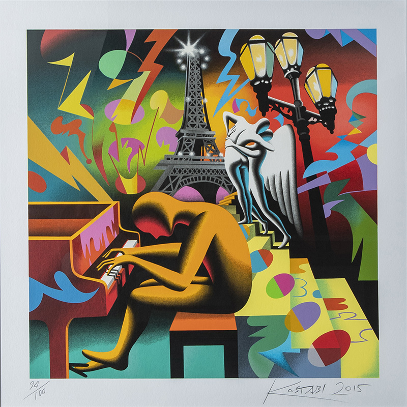 Kostabi - Eternal Melody 70x70