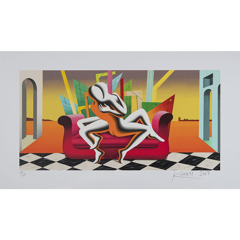 Mark Kostabi – The Architecture Of Desire – 70×120