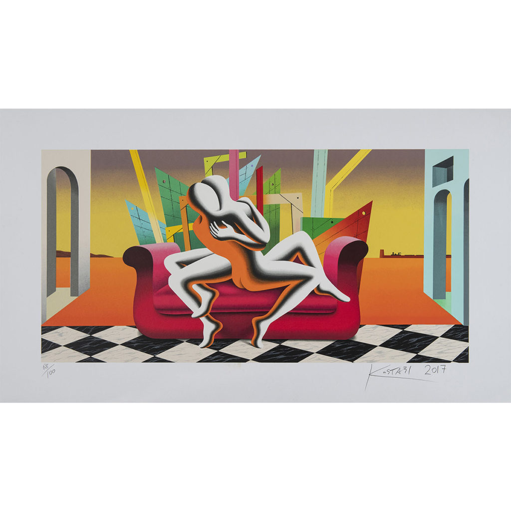 Kostabi - The architecture of desire - 70x120