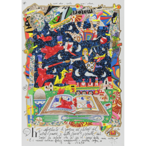 Francesco Musante – Ho Sfogliato Le Pagine – 35×50