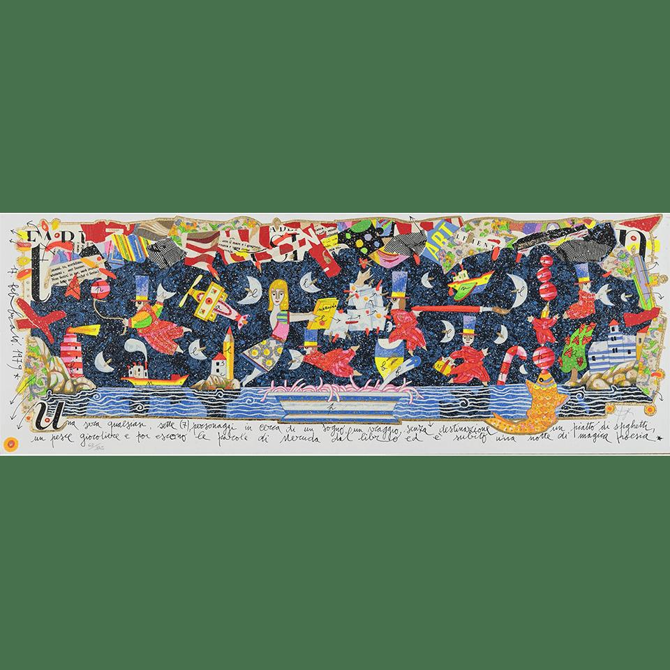 Francesco Musante – Una Sera Qualsisasi – 70×25