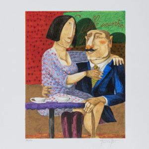 Pino Procopio - Caffè Incontro - 35x30