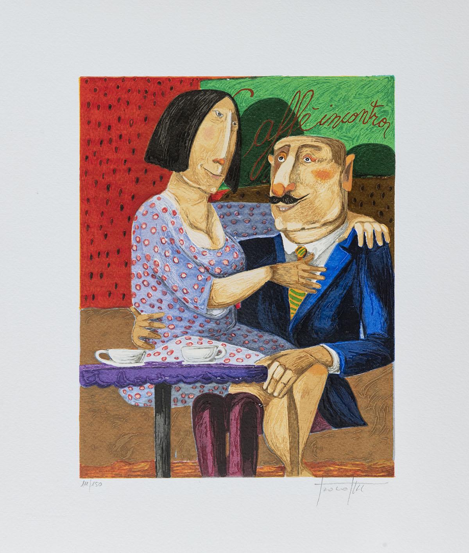 Pino Procopio – Caffè Incontro – 35×30
