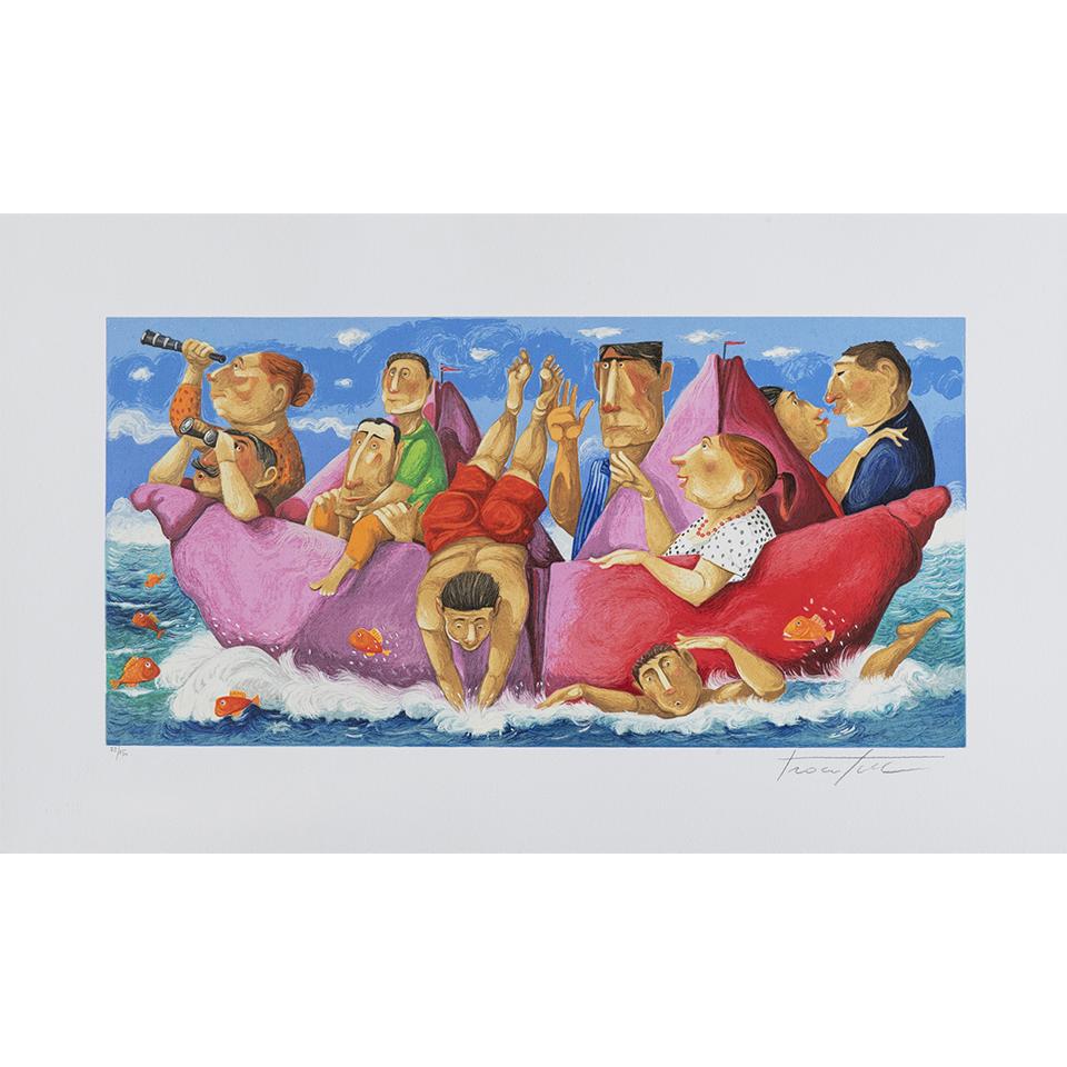 Pino Procopio – Caraibi – 75×45