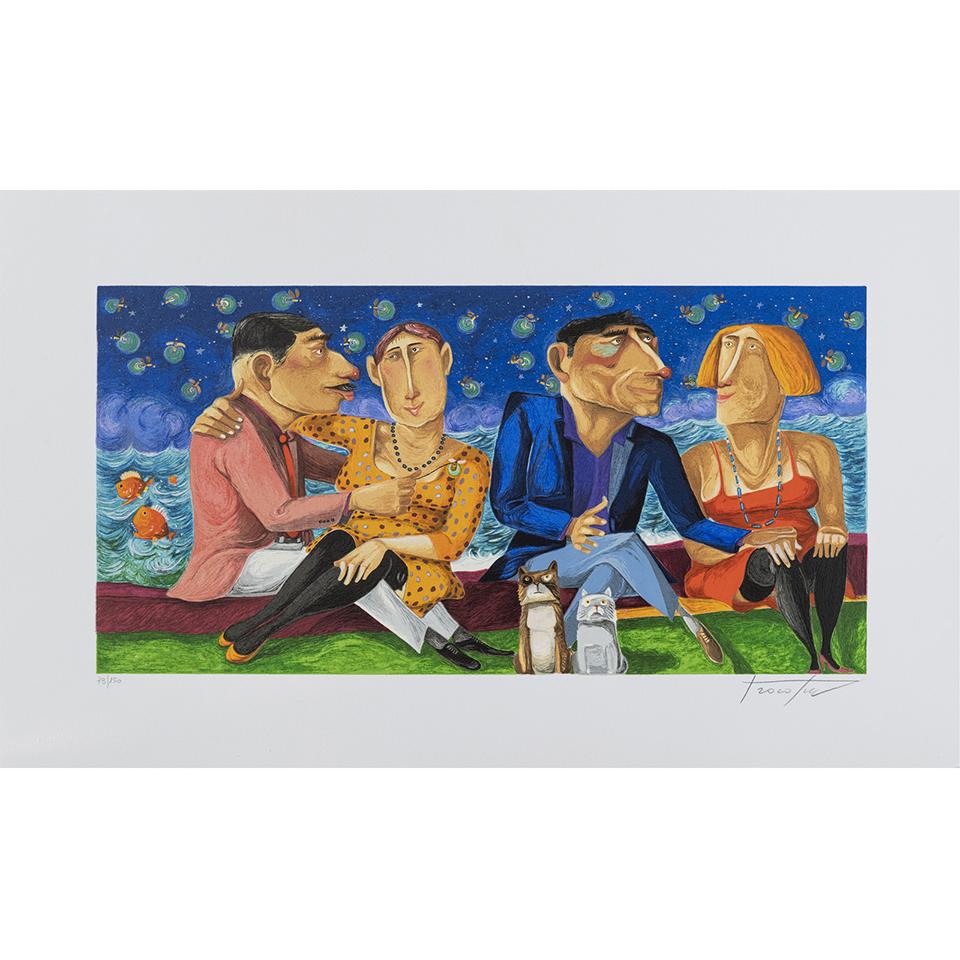 Pino Procopio – Confidenze Notturne – 75×45