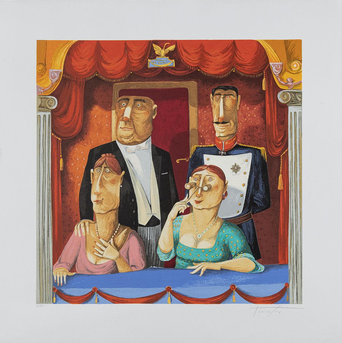 Pino Procopio – Gran Teatro La Fenice – 65×65