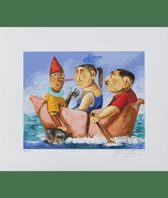 Pino Procopio – Il Racconto – 35×30
