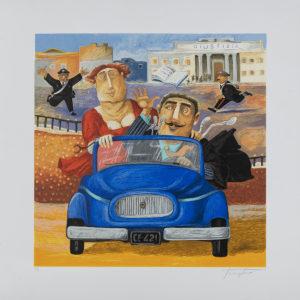 Pino Procopio - La Passione Al Di Sopra Della Legge - 65x65