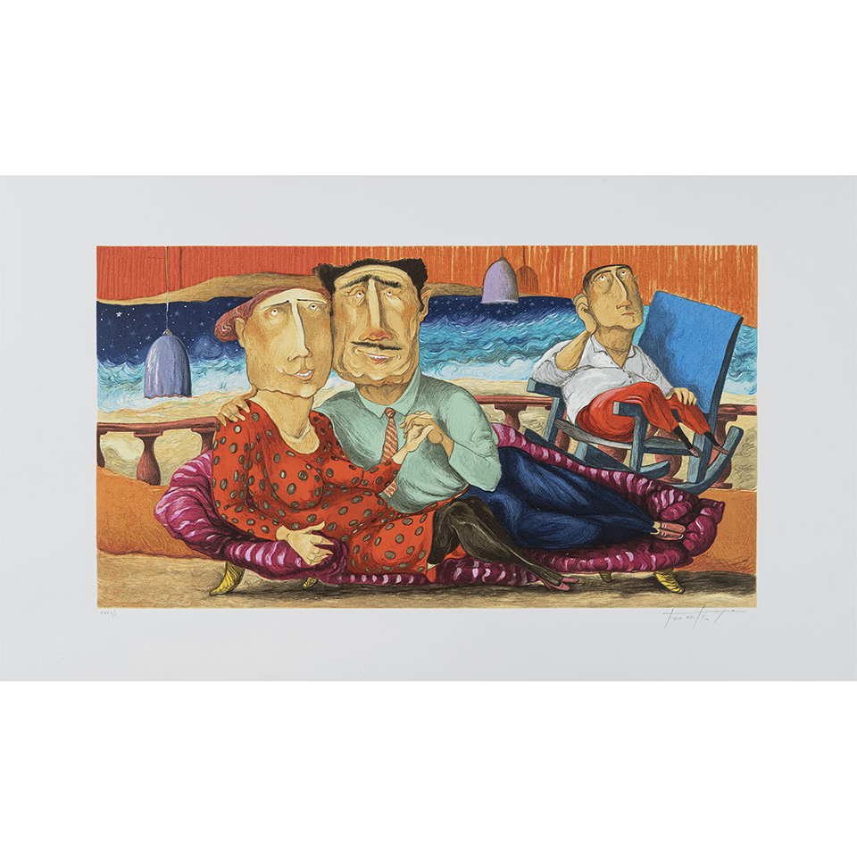 Pino Procopio – La Terrazza – 85×50