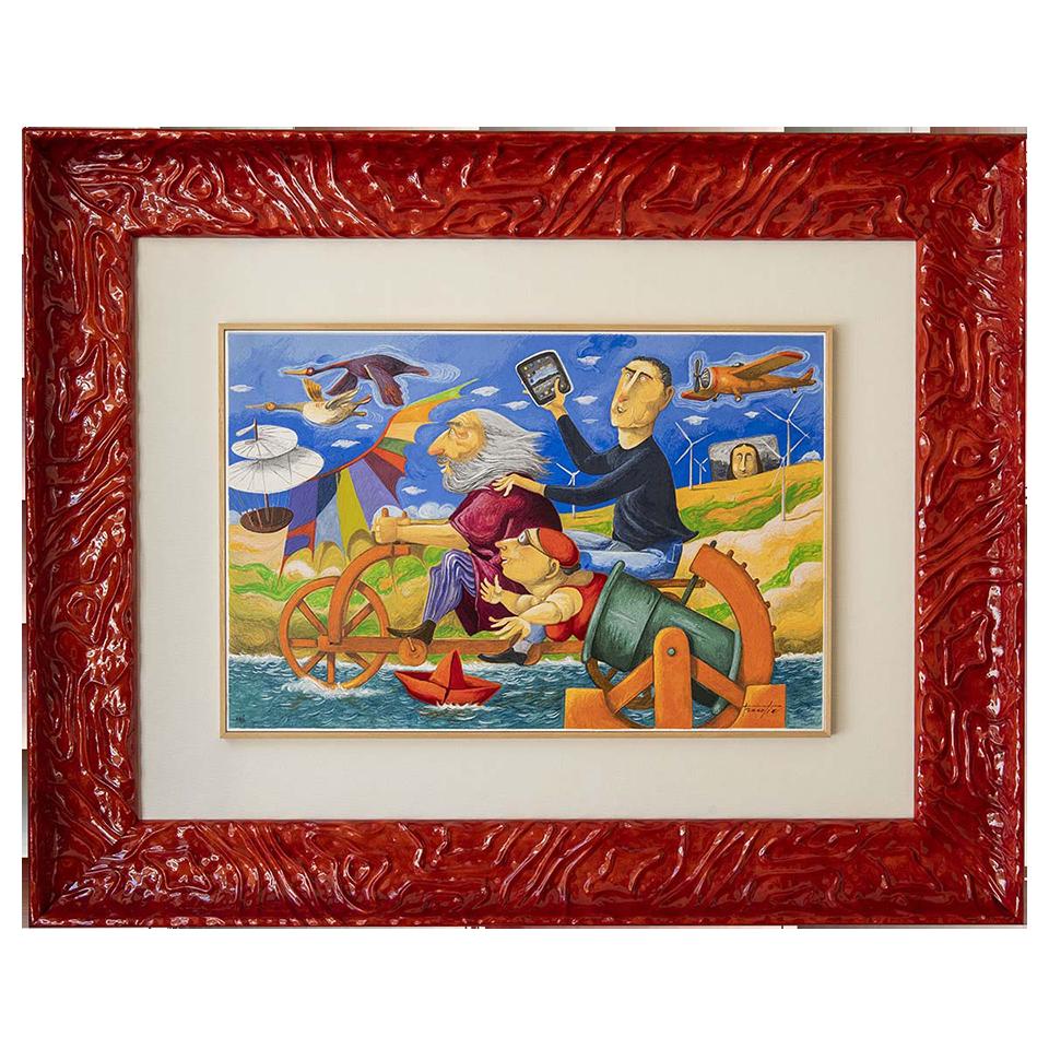 Pino Procopio – La Voce Del Mare – 98×78
