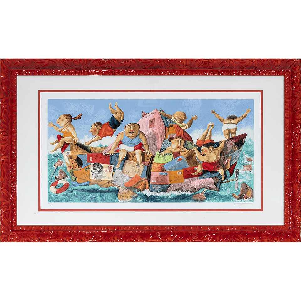 Pino Procopio – Naufragio – 147×90