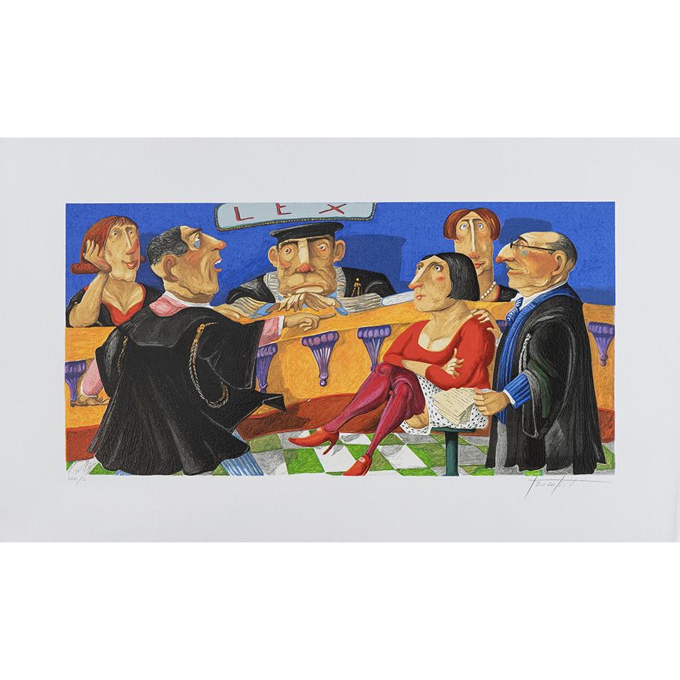Pino Procopio – Presunta Colpevole – 75×45