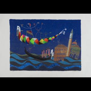 Meloniski – Alba A Venezia – Retouchè 100×70 Cm
