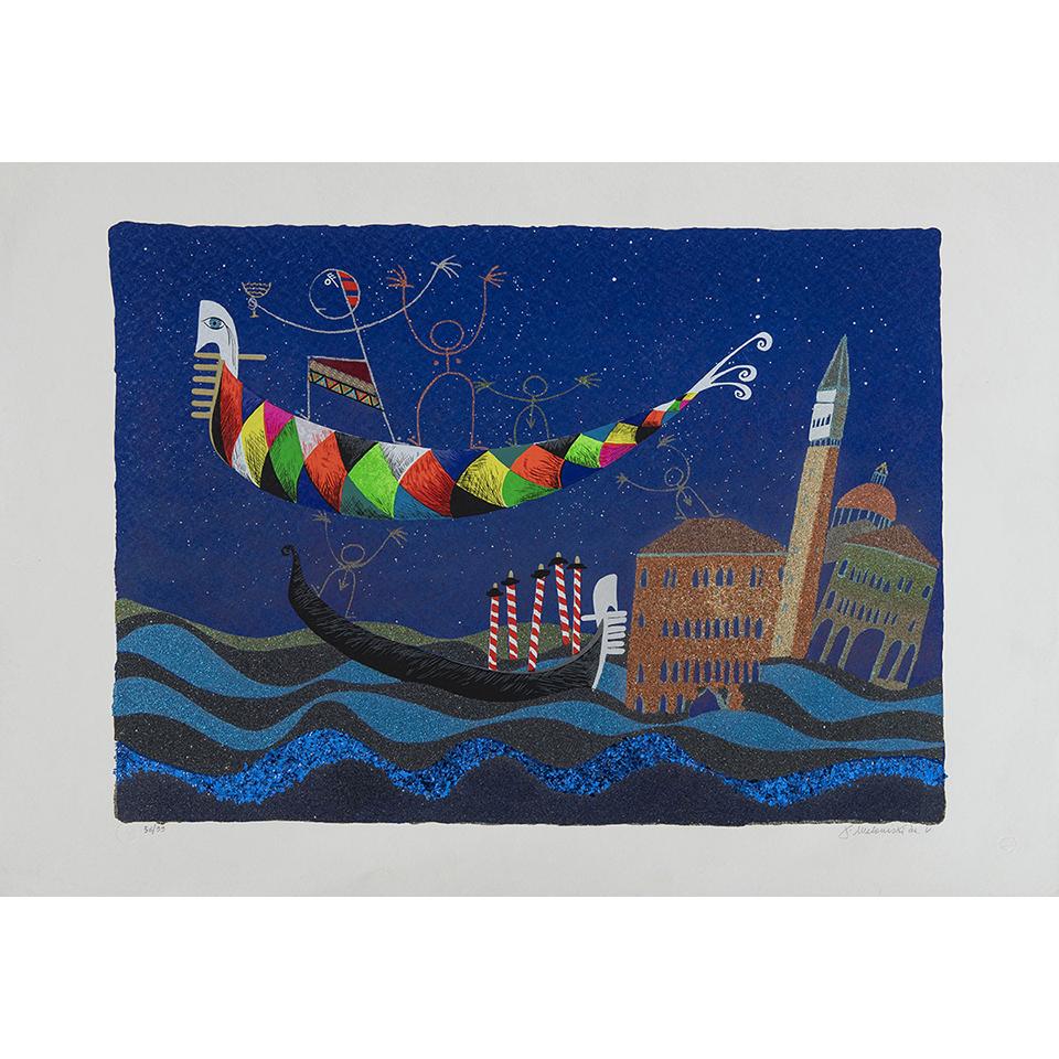 Meloniski – Alba A Venezia – Retouchè 100×70