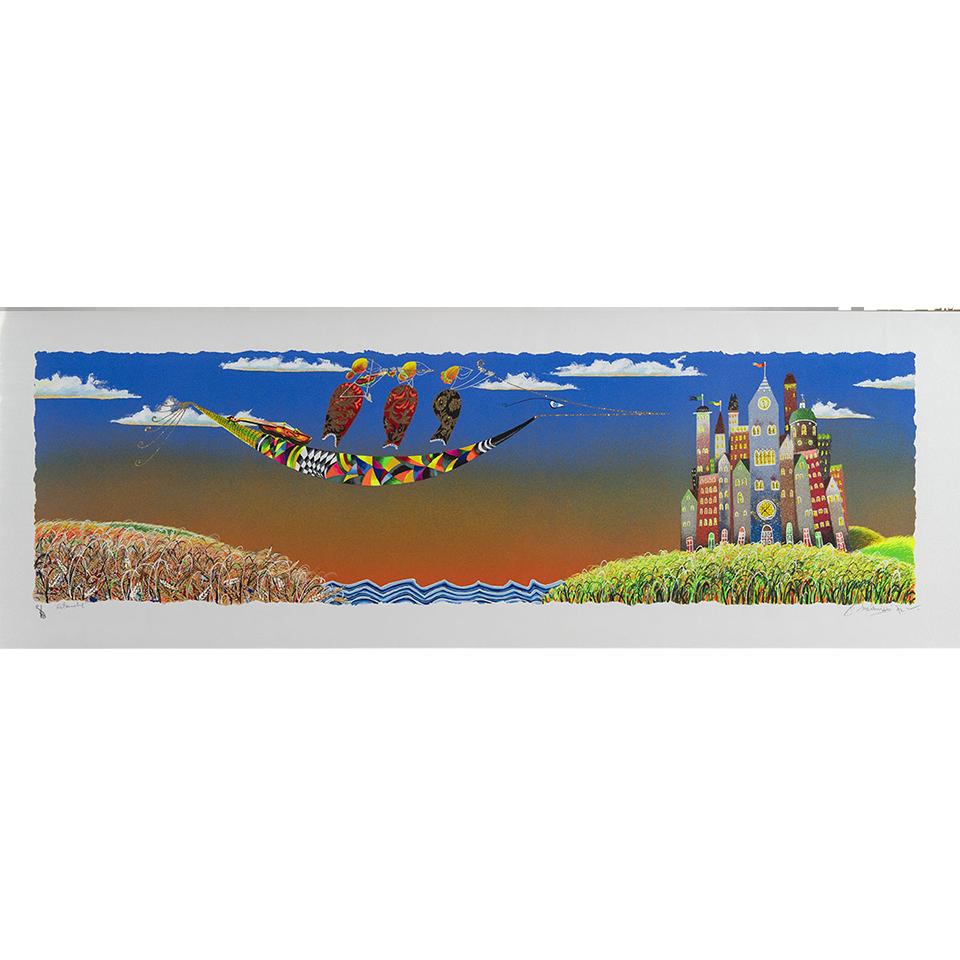 Meloniski – Estate – Retouchè 140×50