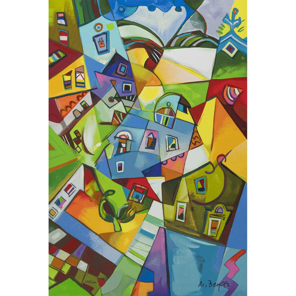 Miljenko Bengez - Luce del nord - Serigrafia 60x40cm