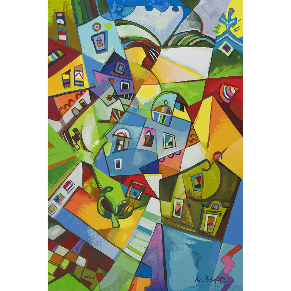 Miljenko Bengez – Luce Del Nord – Serigrafia 60×40