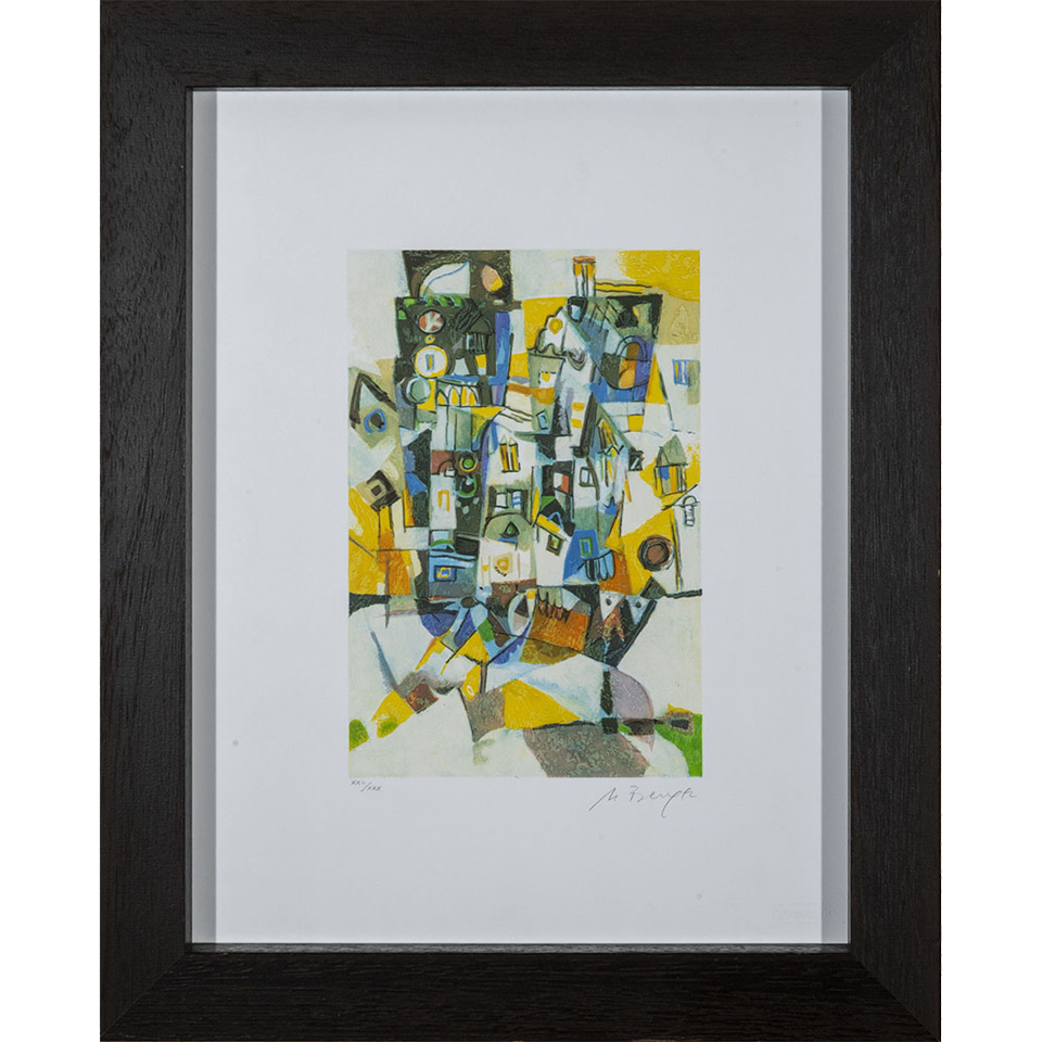 Miljenko Bengez – Senza titolo – Serigrafia 52x42cm