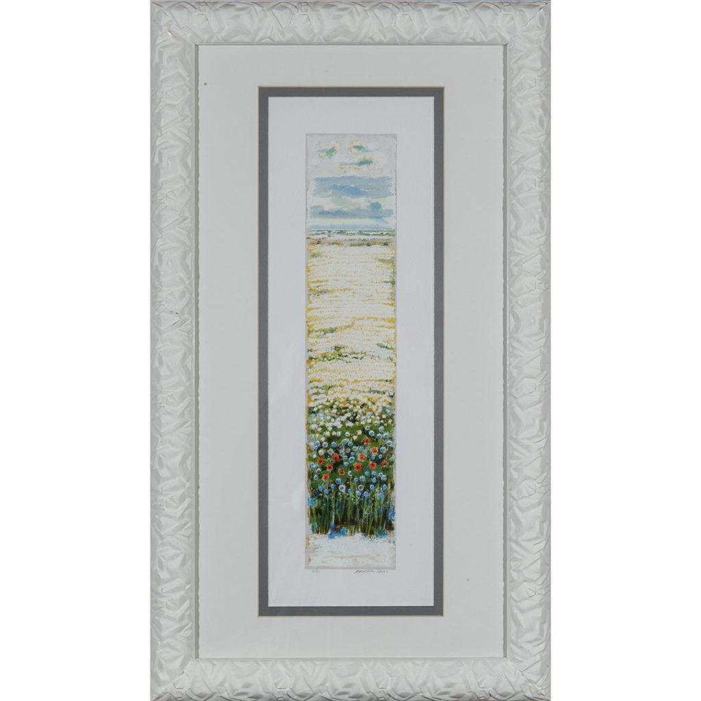Natale Addamiano - Campo fiorito - Serigrafia 46x80cm