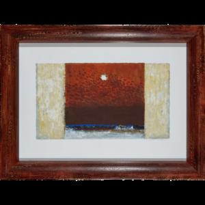 Natale Addamiano – Cielo D'estate – Serigrafia 81×61