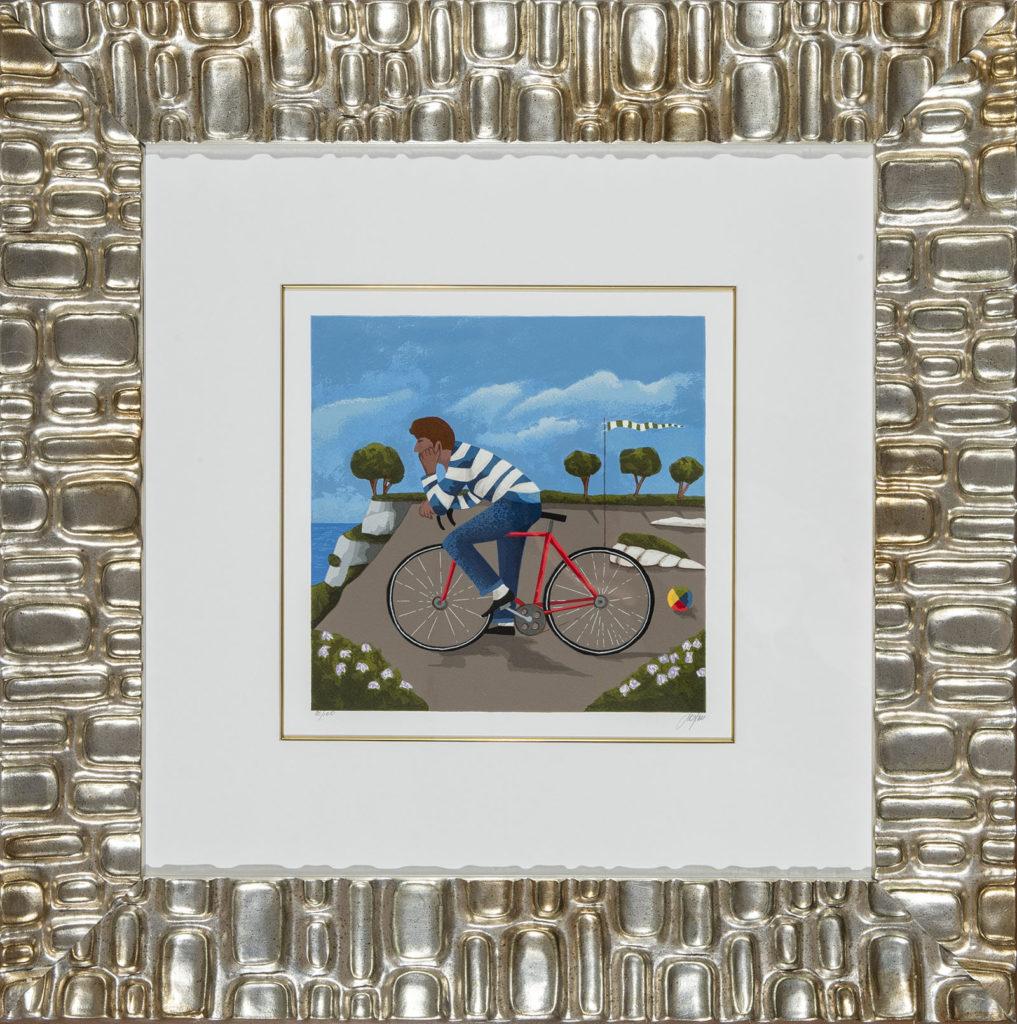 Renato Sciolan - Memory - Serigrafia 71x71cm