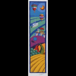 Stefano Calisti – Senza Titolo – Serigrafia 12,5x50cm