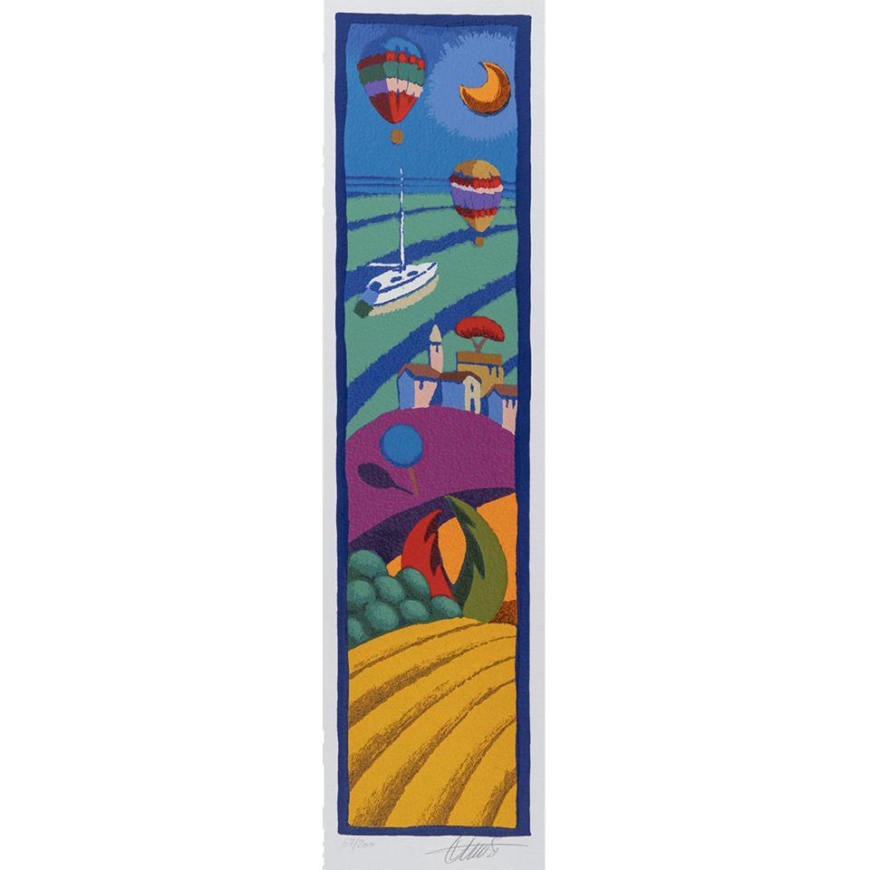 Stefano Calisti – Senza Titolo – Serigrafia 12,5×50